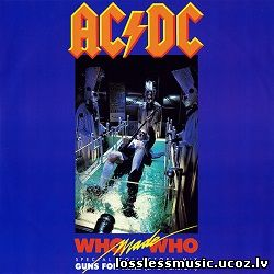 AC/DC - Who Made Who (Special Collectors Mix). FLAC, 1986 - folder
